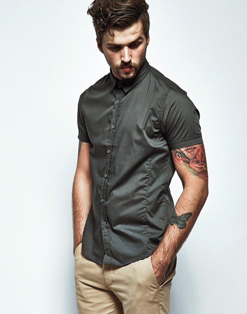 The Idle Man Short Sleeved Shirt