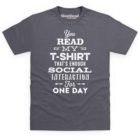 Social Interaction T Shirt