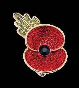 Poppy Brooch