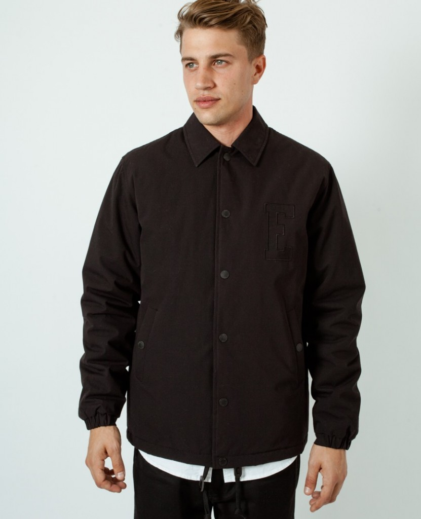 Edwin Coach Jacket Black