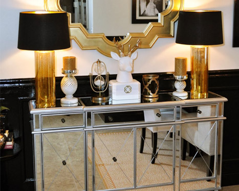 All that Sparkles: Mirrored Furniture UP TO 50% OFF
