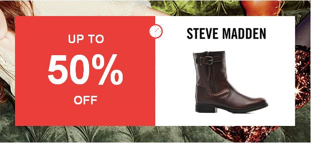 Steve Madden flash sale