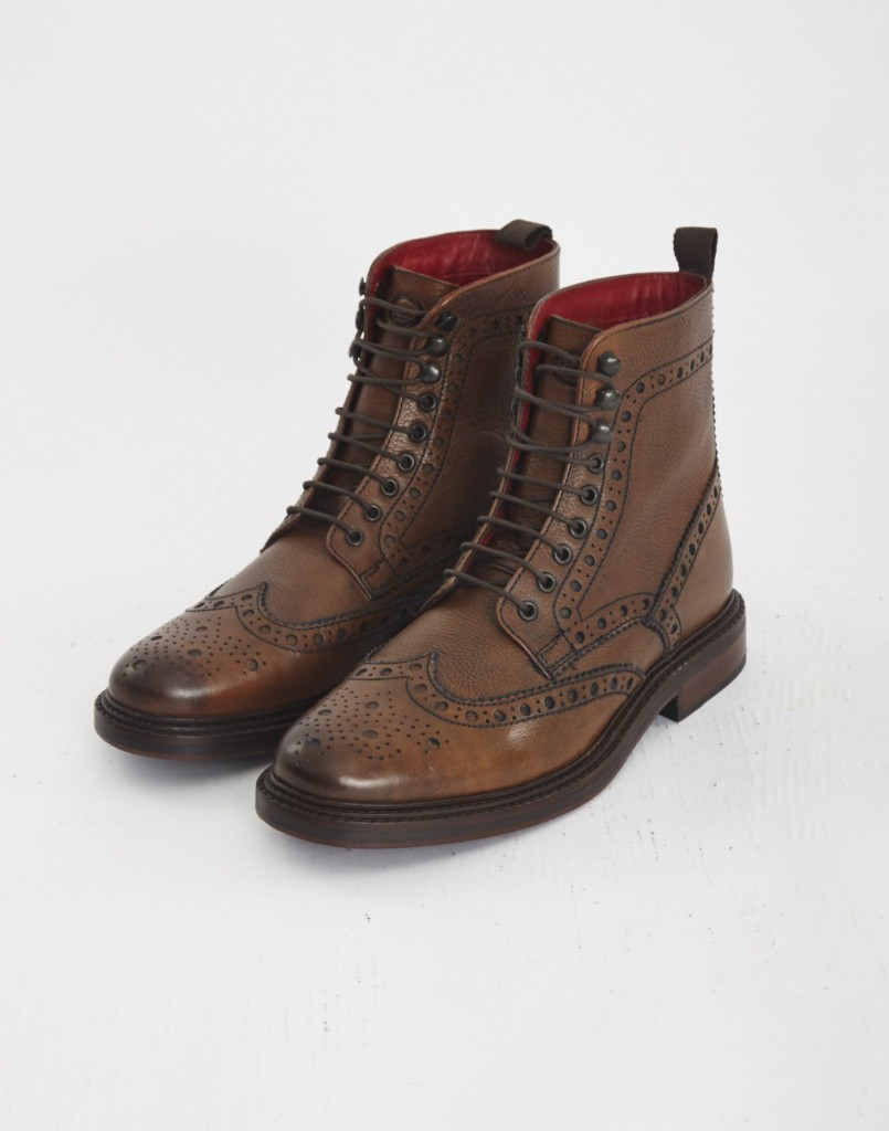 base london brogue boots