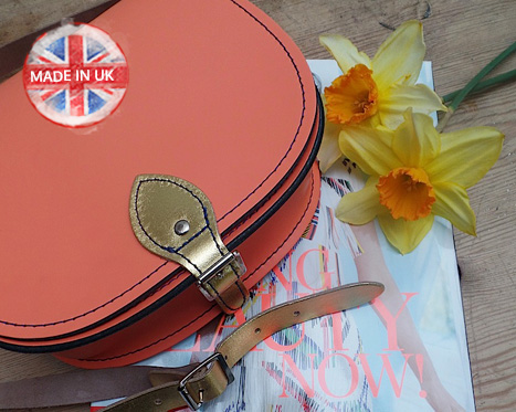 Cool Britannia: Handmade Leather Bags UP TO 50% OFF