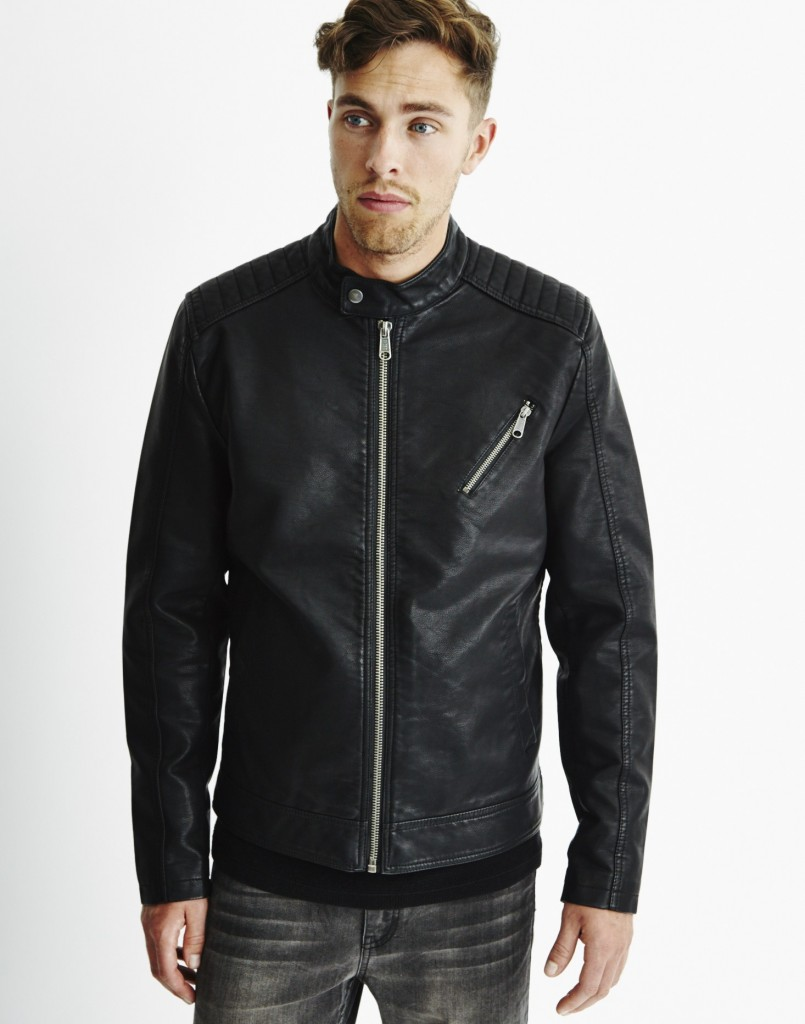 only and sons biker jacket