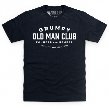 Grumpy Old Man Club T Shirt