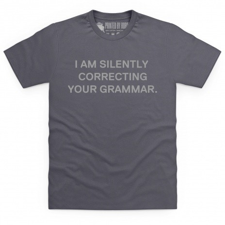 Correction T Shirt