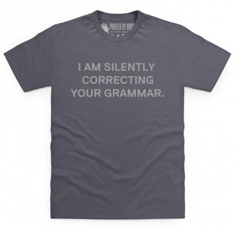 Correction T Shirt