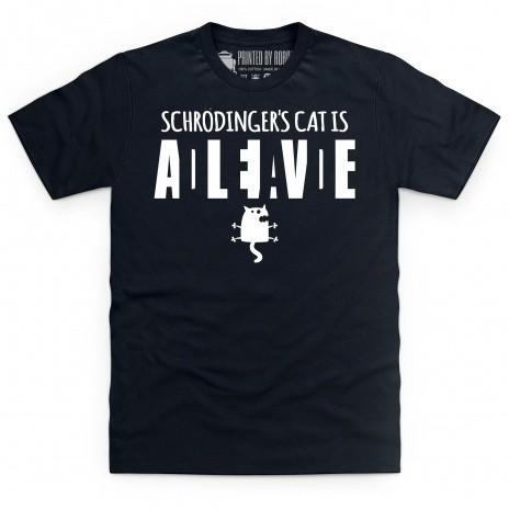 Schrodinger Dead Alive T Shirt