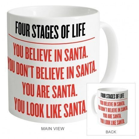 Four Stages of Life Mug