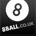 8Ball Black Tag