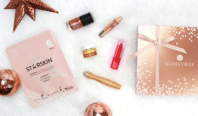 Glossybox Rose Gold Edit Products