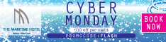 Cyber Monday specials at The Maritime