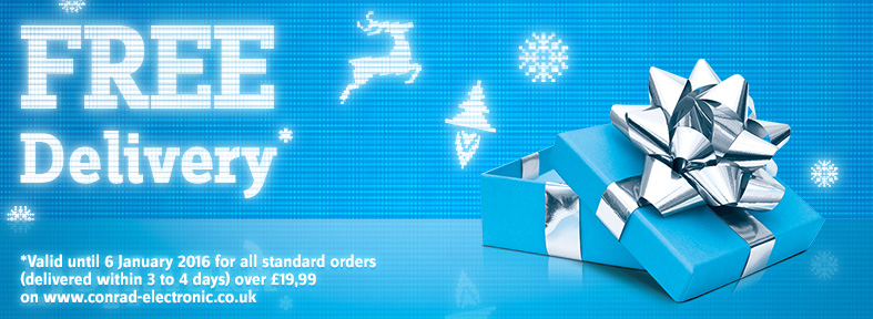 Free shipping on all standard orders over £19.99