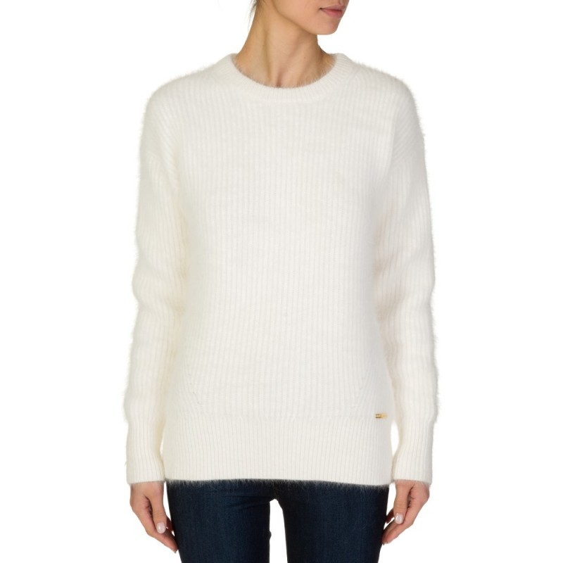 MICHAEL KORS CREAM ANGORA KNIT