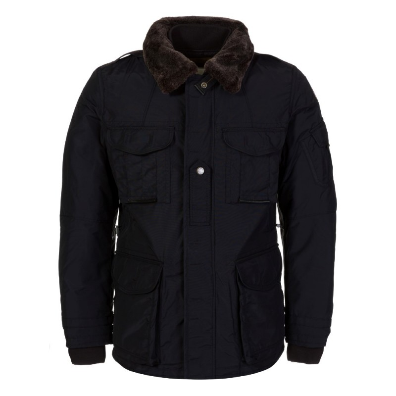 PARAJUMPERS NAVY PORTLAND JACKET