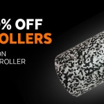 Up to 30% off high density foam rollers - from only £5.60