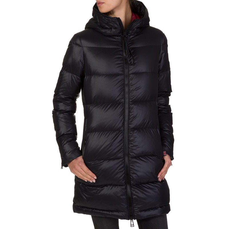 BELSTAFF BLACK DOWN JACKET