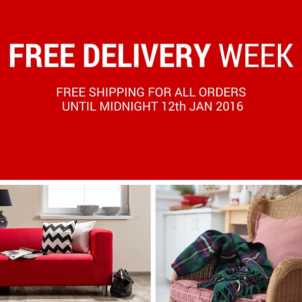 Free delivery week 5-12 Jan 2016