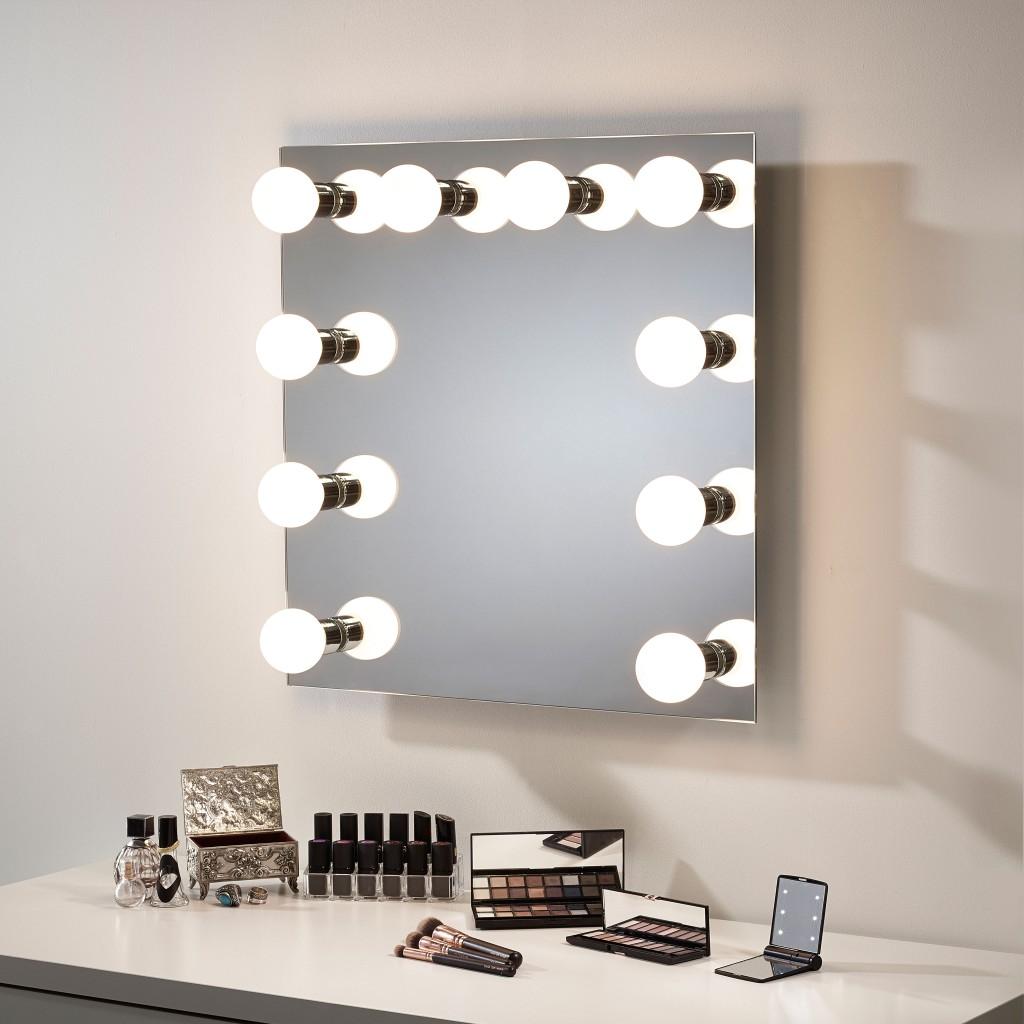 Hollywood Mirror Pebble Grey
