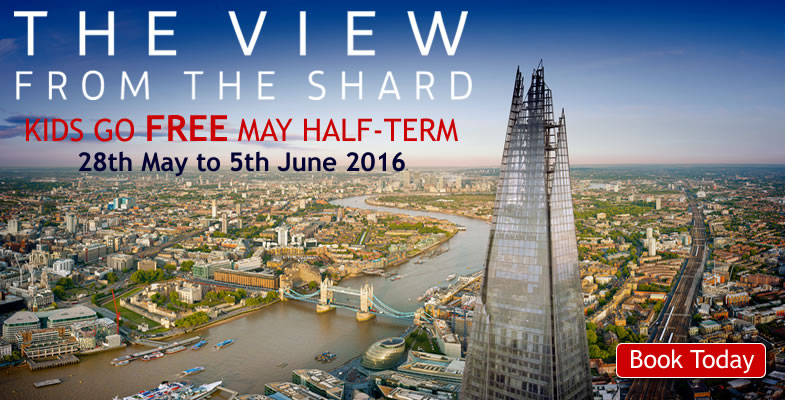 Shard Kids Go FREE Half Term