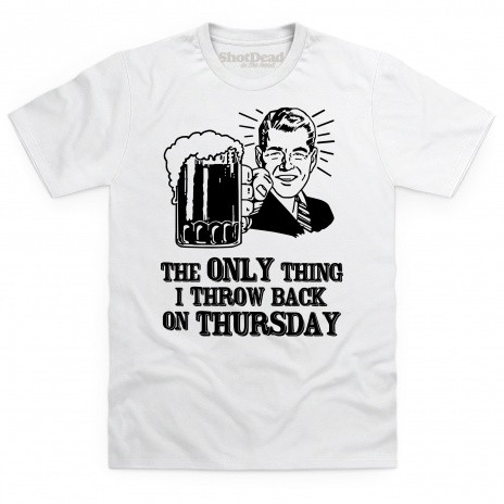 Throwback Thursday Beer T Shirt