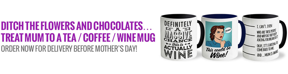 Mother's Day Mugs and T-Shirt Designs!