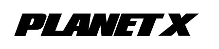 Planet X Logo Text