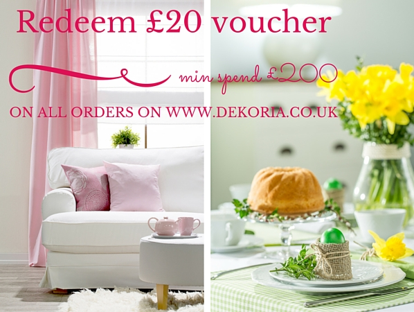 The Hub 187 163 20 Voucher For All Home Textiles Orders On Dekoria