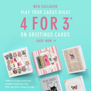 Paperchase Cards Offer