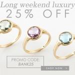 25% Off Gemondo Jewellery