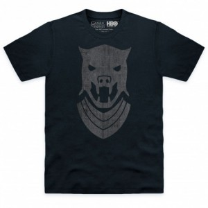 Official Game of Thrones - Hound Helm Organic T Shirt
