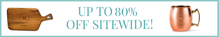 Sitewide Sale - Up To 80% Off!