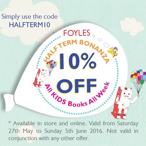 Foyles Half Term