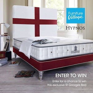 St George's branded Hypnos bed