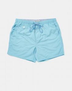 Blue swim shorts