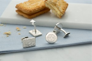 Lily Charmed Silver Cufflinks Group Shot (1)