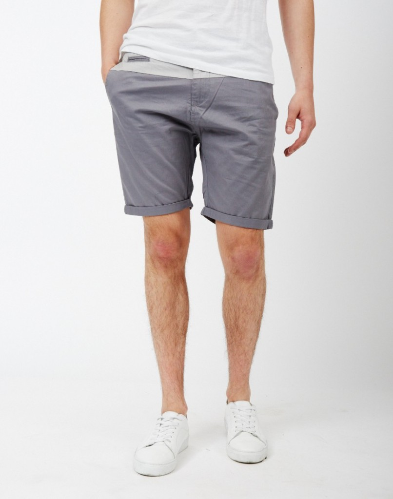 The Idle Man Grey Shorts