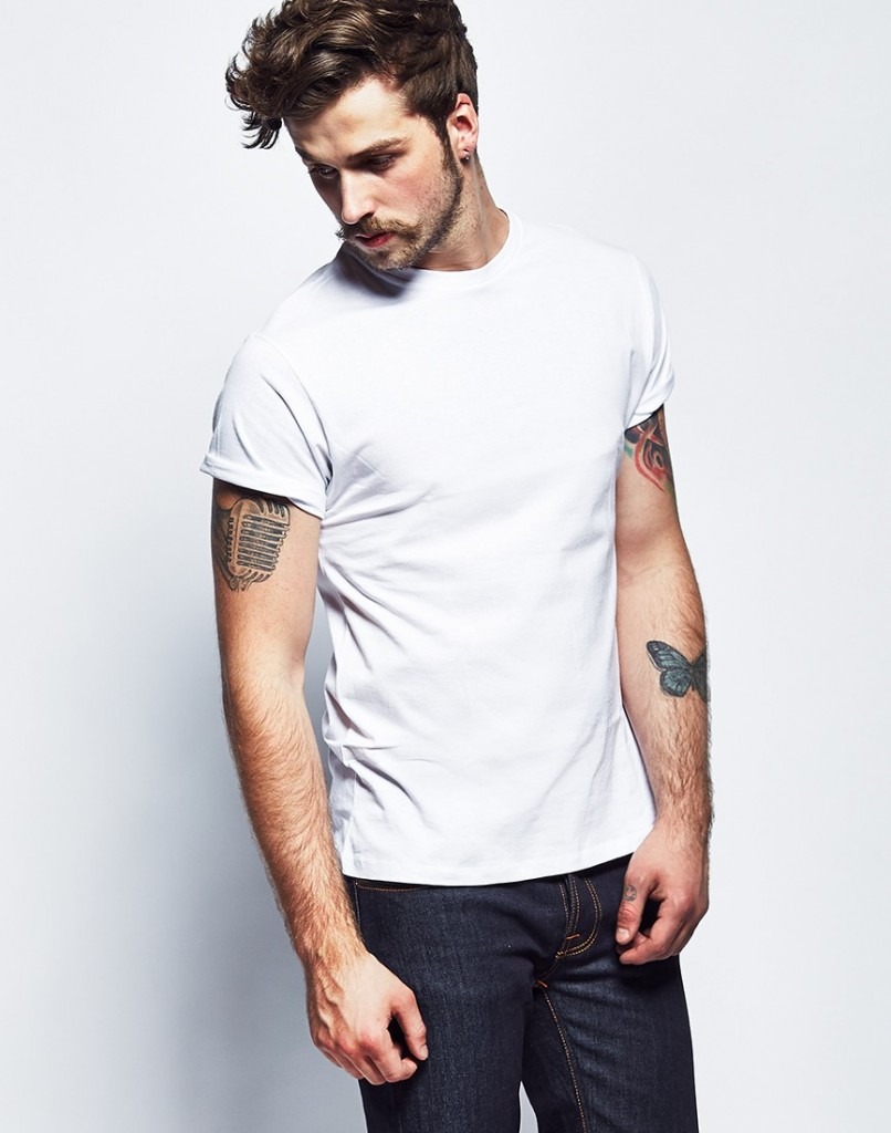 The Idle Man White T