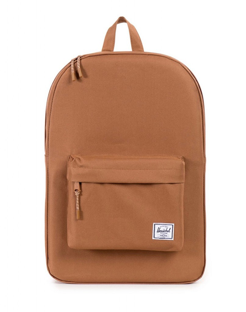 tanned hershel backpack