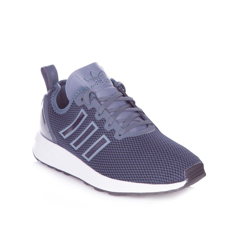 ADIDAS ONYX GREY ZX FLUX ADV TRAINERS
