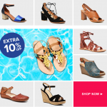 Extra 10% off Sandals