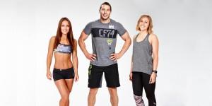 Sandra, Kev & Katie
