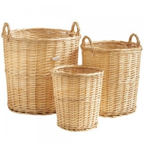 VonHaus Wicker Basket Set
