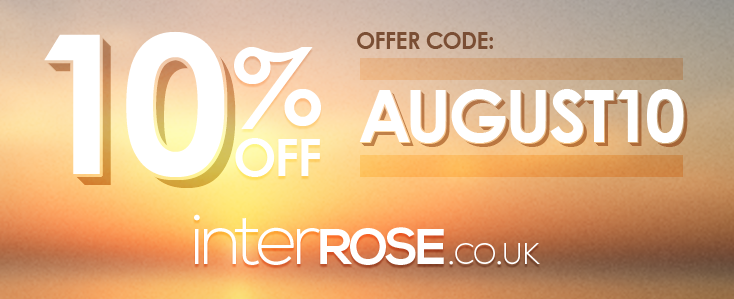 interROSE - 10% OFF Throughout AUGUST