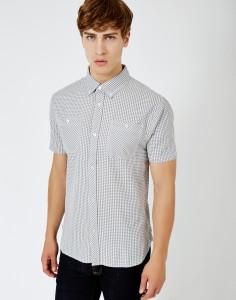 check gingham shirt