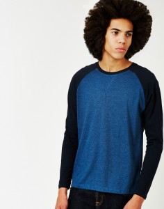 long sleeve blue