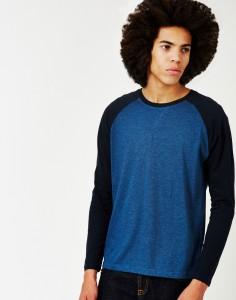 long sleeve blue