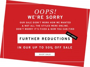 WoolOvers 50% off SALE - Further reduction