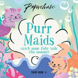 Paperchase Purr Maids Collection